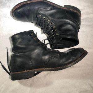 ALDO Men's Size 13 Guietta Black Boots VIBRAM sole